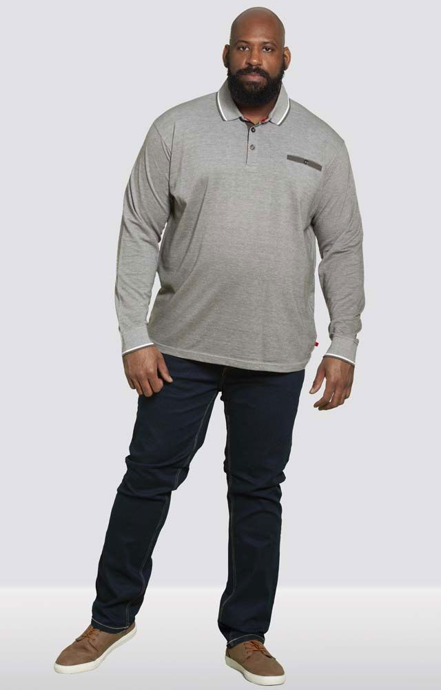 Polo grande taille homme